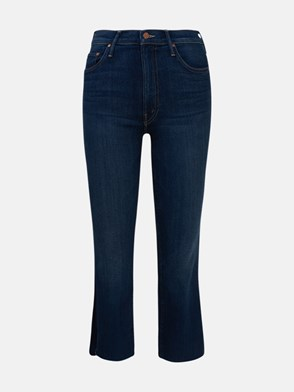 MOTHER - JEANS INSIDER CROP BLU