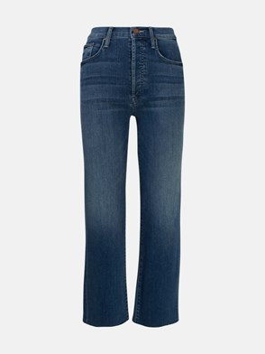 MOTHER - JEANS THE RAMBLER BLU