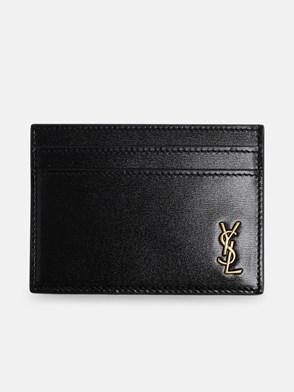SAINT LAURENT - BLACK CARD HOLDER