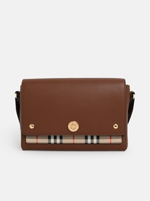 BURBERRY - TRACOLLA MD NOTE MARRONE