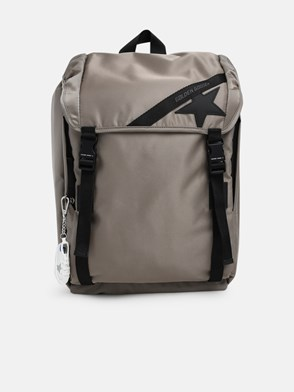GOLDEN GOOSE DELUXE BRAND - GREY BACKPACK