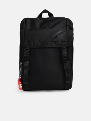 GOLDEN GOOSE DELUXE BRAND - BLACK BACKPACK
