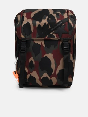 GOLDEN GOOSE DELUXE BRAND - CAMOUFLAGE BACKPACK