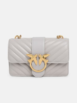 PINKO - TRACOLLA MINI LOVE ICON GHIACC