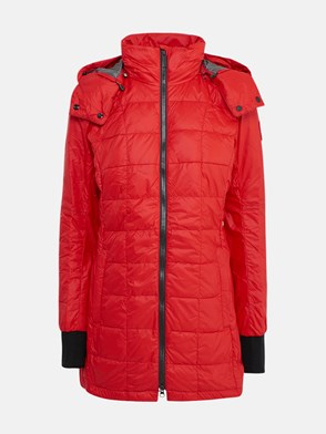 CANADA GOOSE - RED CG ELLISON DOWN JACKET