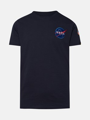 ALPHA INDUSTRIES - BLUE SPACE SHUTTLE T-SHIRT