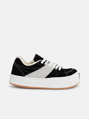 PALM ANGELS - BLACK SNOW LOW SNEAKERS