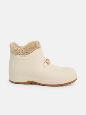 GUCCI - IVORY ANKLE BOOTS