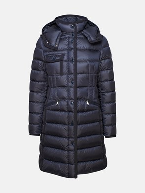 MONCLER - BLUE HERMINE DOWN JACKET