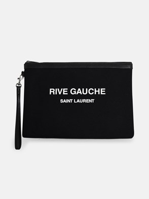 SAINT LAURENT - BLACK POUCH