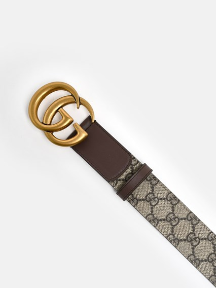 Gucci Gg Jackie O Clasp Hobo Bag Medium Tan Monogram