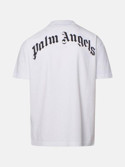 PALM ANGELS T-SHIRT BEAR BIANCA - COD. PMAA001R21JER001     0160