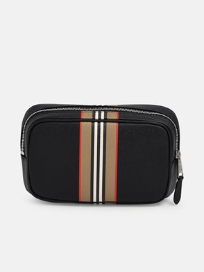 BURBERRY - MARSUPIO WEST NERO