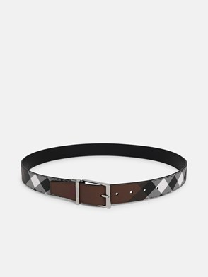BURBERRY - BROWN MB LOUIS35 BELT