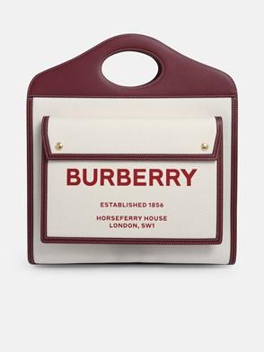 BURBERRY - BORSA MD POCKET BEIGE