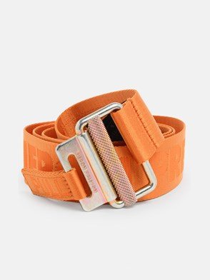 HERON PRESTON - ORANGE TAPE BELT