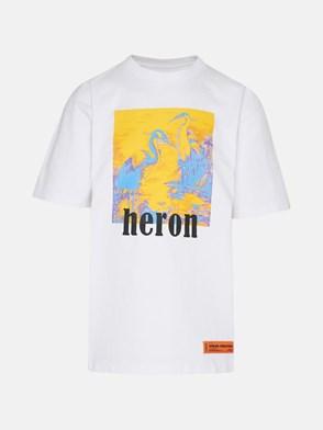 HERON PRESTON - T-SHIRT LITHO HERONS BIANCA