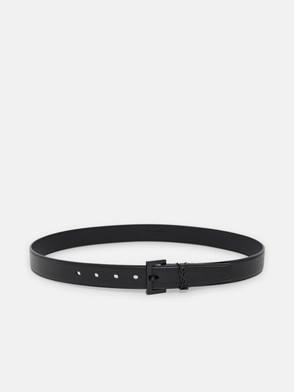SAINT LAURENT - BLACK BELT