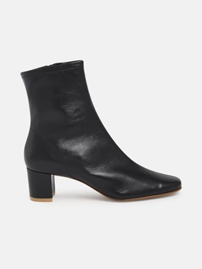 BY FAR - BLACK SOFIA ANKLE BOOTS