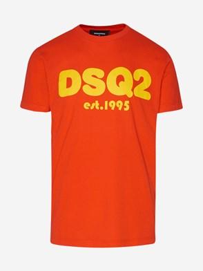 DSQUARED2 - T-SHIRT ARANCIONE