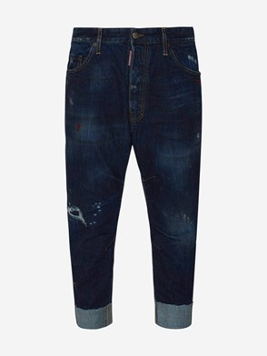 DSQUARED2 - BLUE COMBAT JEANS