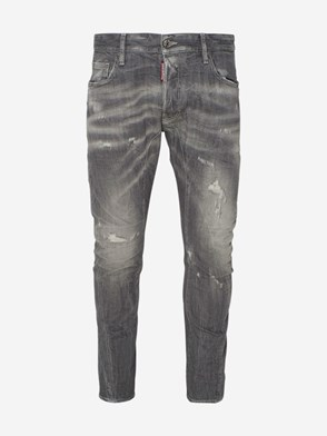 DSQUARED2 - GREY TIDY BIKER JEANS