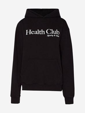 SPORTY & RICH - FELPA HEALTH CLUB NERA
