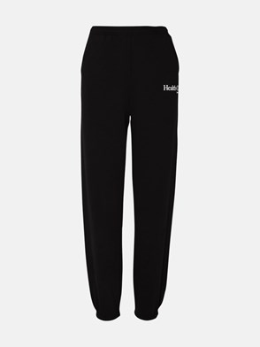 SPORTY & RICH - BLACK HEALTH CLUB PANTS