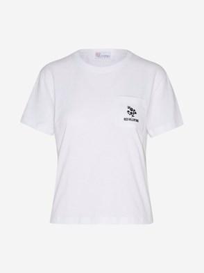 REDVALENTINO - WHITE T-SHIRT
