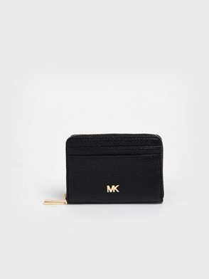 MICHAEL MICHAEL KORS - BLACK MOTT CARD HOLDER