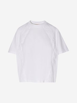 SEE BY CHLOE' - WHITE T-SHIRT