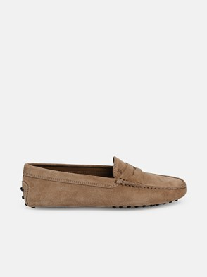 TOD'S - BEIGE PEBBLES LOAFERS
