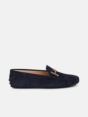 TOD'S - BLUE DOUBLE T LOAFERS