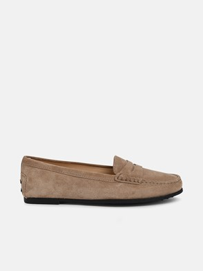 TOD'S - BEIGE CITY LOAFERS