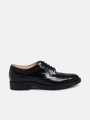 TOD'S - BLACK LACED SHOES