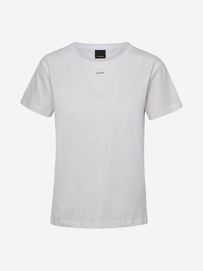 PINKO - WHITE ALLEGATO T-SHIRT