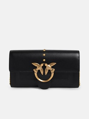 PINKO - BLACK SIMPLY 3 WALLET