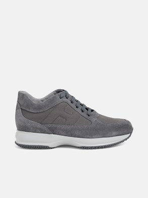 HOGAN - GREY INTERACTIVE SNEAKERS