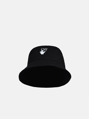 OFF WHITE - CAPPELLO HAND OFF NERO