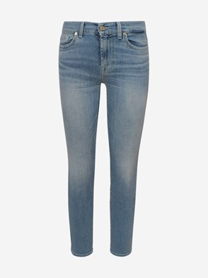 7 FOR ALL MANKIND - JEANS ROXANNE AZZURRI
