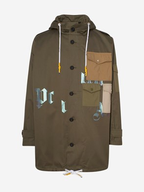 PALM ANGELS - PARKA MILITARY VERDE