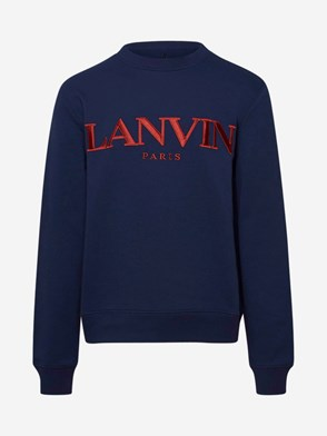 LANVIN - FELPA BLU