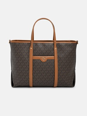 MICHAEL MICHAEL KORS - BORSA NS BECK MARRONE