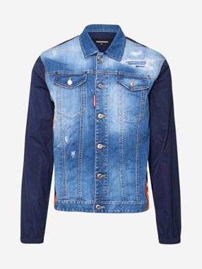 DSQUARED2 - GIUBBINO DOMINATE BLU