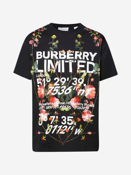 BURBERRY T-SHIRT MUNLOW NERA - COD. 8037460              A1189