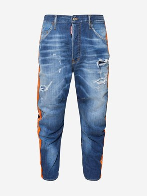 DSQUARED2 - JEANS DOMINATE COMBAT BLUE