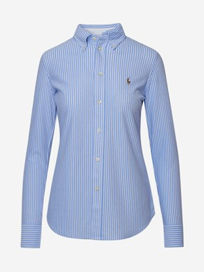 POLO RALPH LAUREN - LIGHT BLUE BUTTON FRONT SHIRT