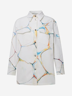 STELLA McCARTNEY - WHITE MARBLE JACKET