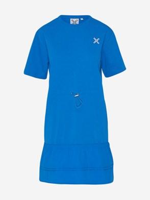 KENZO - LIGHT BLUE FLARE X DRESS