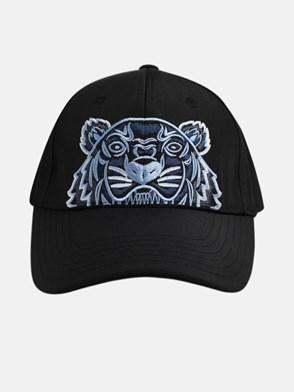 KENZO - BLACK TIGER HAT